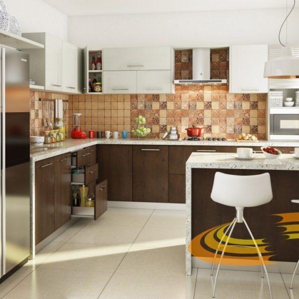 пример красивой кухни фабрики МК