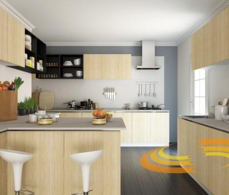 проект кухни 82