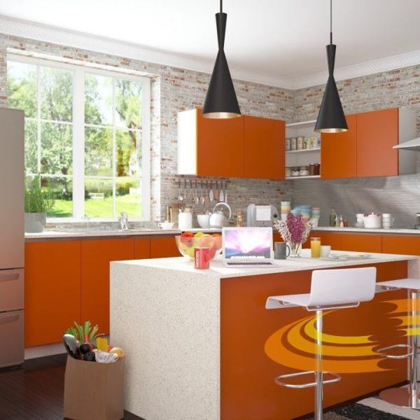 проект кухни 83