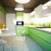 зеленая кухня Грин 10
