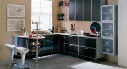 Фото кухни с барной стойкой