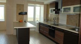 Фото кухни с барной стойкой 7