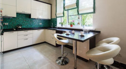 Фото кухни с барной стойкой 6