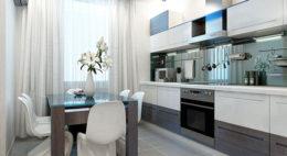 Фото кухни в стиле модерн 2